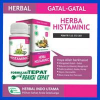 Herbal Histaminic HIU,obat gatal,alergi,kudis,kurap,eksim,bisul/ORI