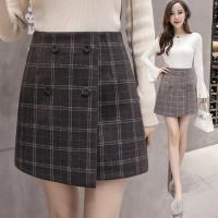 833 Yejin Skirt/Korean Mini Skirt/Rok Slim Model High Waist MotifKotak