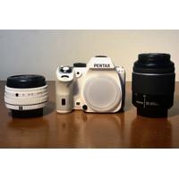 RICOH Pentax K-S2 Camera DSLR White + FREE Tas Bahu Abu-abu