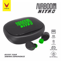 Vyatta Airboom Nitro TWS Bluetooth Earphone - Gaming 65ms, 15in1 Touch