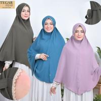 hijab khimar wollycrepe model pet renda