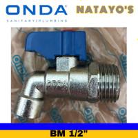 kran air / kran besi tembok BM 1/2 ONDA