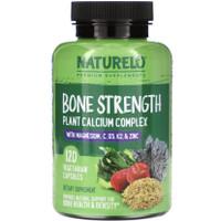 Naturelo Bone Strength Plant Based Calcium Complex 120 veg caps