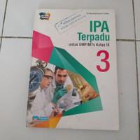 Buku IPA terpadu kls 3 SMP/MTs ktsp 2006 masmedia