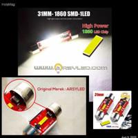 Lampu Kabin Mobil Xpander Livina Avanza Sigra 31 mm CHIPSET Ekstrim
