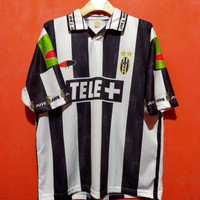 jersey bola juventus home 2000 second