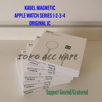 KABEL DATA/CHARGER MAGNETIC APPLE WATCH SERIES 1-2-3-4 ORIGINAL IC