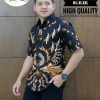 Kemeja Batik Lengan Pendek Puring 4