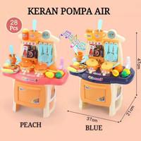 Mainan Anak Perempuan Masak Masakan Kitchen Set Dengan Kran Air
