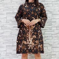 Dress Batik Solo Bahan Katun 1