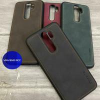 Caseme Original Leather Back Cover Case Xiaomi Redmi Note 8 pro