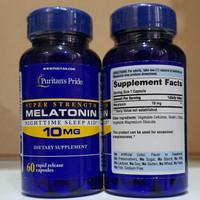 puritans pride melatonin 10 mg 60 caps / 120 caps ori usa free gift