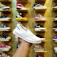 Sepatu Sneakers anak Adidas Superstar Slip On Kids Import