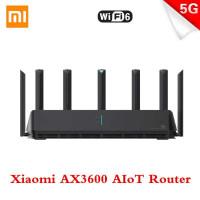 Xiaomi AloT Router Wifi 6 Gigabit Dual-Band Router - AX3600