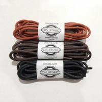 Tali sepatu lilin (wax shoelace/tali kulit) 120cm