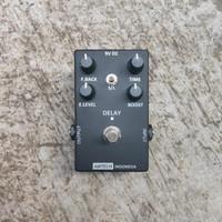 Efek gitar DELAY BOOST pedal stomp box handmade AMTECH gitar bass