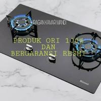 kompor Gas Tanam Rinnai RB-712(GB)Rinai RB712NGB/2 tungku