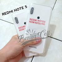 CASE REDMI NOTE 5 - SOFTCASE CLEAR HD PREMIUM XIAOMI REDMI NOTE 5 PRO