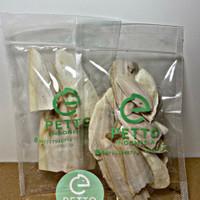 Tulang sotong kering pakan burung reptil hamster kura kura sulcata 50g