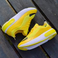 Sepatu Wanita Terbaru Sneakers Nike Sport Lari Fitnes senam jumba gym - 36, Putih