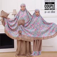mukena couple (ibu dan anak)