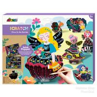 AVENIR 2in1 Scratch Joint Puppet Boneka Wayang - Fairies in the Garden