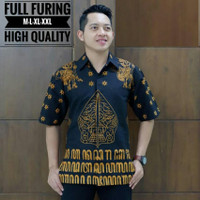 Kemeja Batik Lengan Pendeng Puring 3