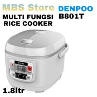 Rice Cooker Multi Fungsi B801T 1.8 Liter LCD display