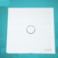 BARDI Smart Light Switch Touch Wall Switch Saklar Lampu Wifi EU 1 Gang