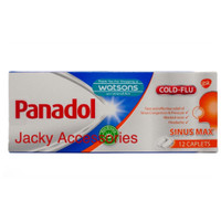 Panadol Sinus MAX COLD + FLU / Obat flu / Sinus / Demam / Pilek