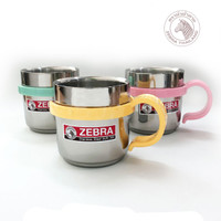 Zebra Double Wall Cup - Cute (112036) / Gelas Stainless