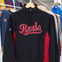 Jaket anak / Youth BASEBALL Majestic Premier REDS
