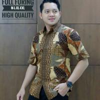 Kemeja Batik Lengan Pendek Puring7