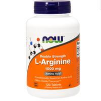 Now Foods L Arginine Double Strength 1000mg 120 tab