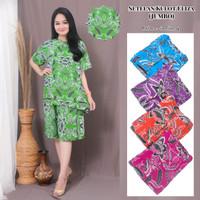 Setelan Kulot Batik Jumbo / Baju Tidur Jumbo