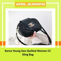 Korea Young Gen Quilted Women CC Sling Bag