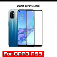 TEMPER GLASS FULL LEM OPPO A53 NEW