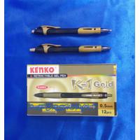 KENKO K-1 GOLD SERIES 0,5MM WARNA TINTA HITAM [ 1 PCS ]