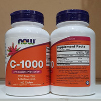 Now Foods Vitamin C 1000 100 Tablets / 100 Vegetarian Capsules Ori USA