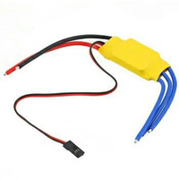 30A Brushless Motor Speed Controller RC BEC ESC T-rex 450 V2 Helicopte