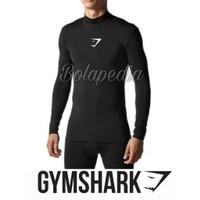 Baselayer Lengan PANJANG GYMSHARK / Manset olahraga Gym fitnes futsal