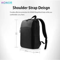huawei honor tas ransel backpack waterproof canvas laptop macbook
