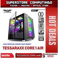 Armaggeddon Tessaraxx Core 1 Air MATX Gaming PC Case Mesh Front Panel