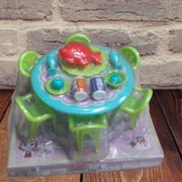 Mainan Meja Kursi Makan Anak Set