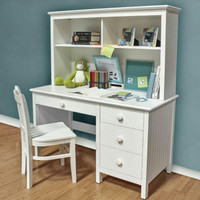Meja belajar anak minimalis serbaguna kayu jati murah