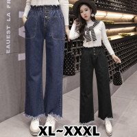 (#6131 Bigsize XL/XXL/XXXL)Somi Denim Pants/Celana Panjang/CelanaJeans