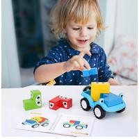 TweedyToys - Smart Interest Car - Puzzle Susun Mobil Kayu