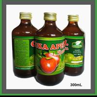 CUKA APEL BATU ASLI organik - organic apple vinegar original manfaat C