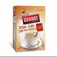 KAPAL API GRANDE WHITE COFFEE TOPPING 20 GRAM X 5