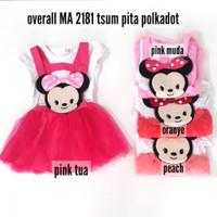 Baju Bayi Perempuan MA 2181 Overall Rok Tutu Tsum Pita